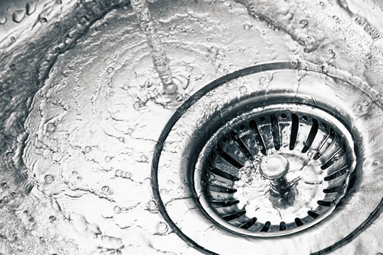 Drain unclogged and draining