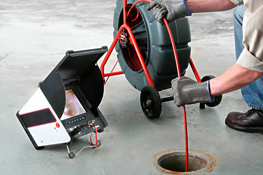 Sewer drain video inspection equipment